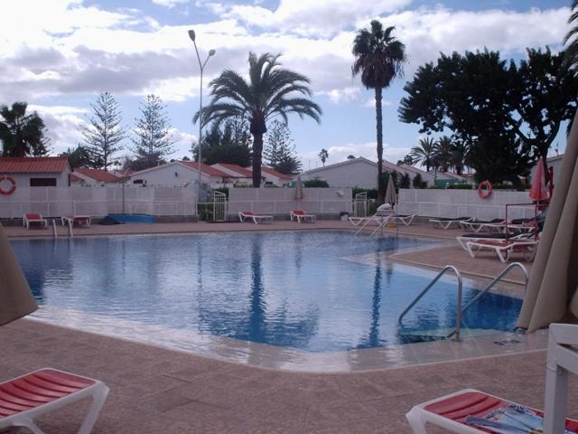 One of the pools - Number 83 Los Arcos, Playa del Ingles, Gran Canaria